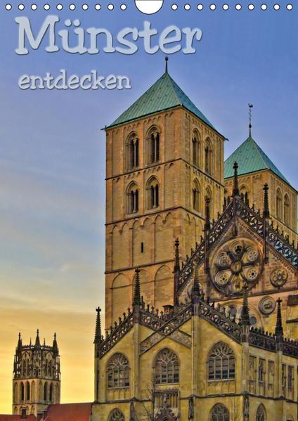 Münster entdecken (Wandkalender 2017 DIN A4 hoch) - Coverbild