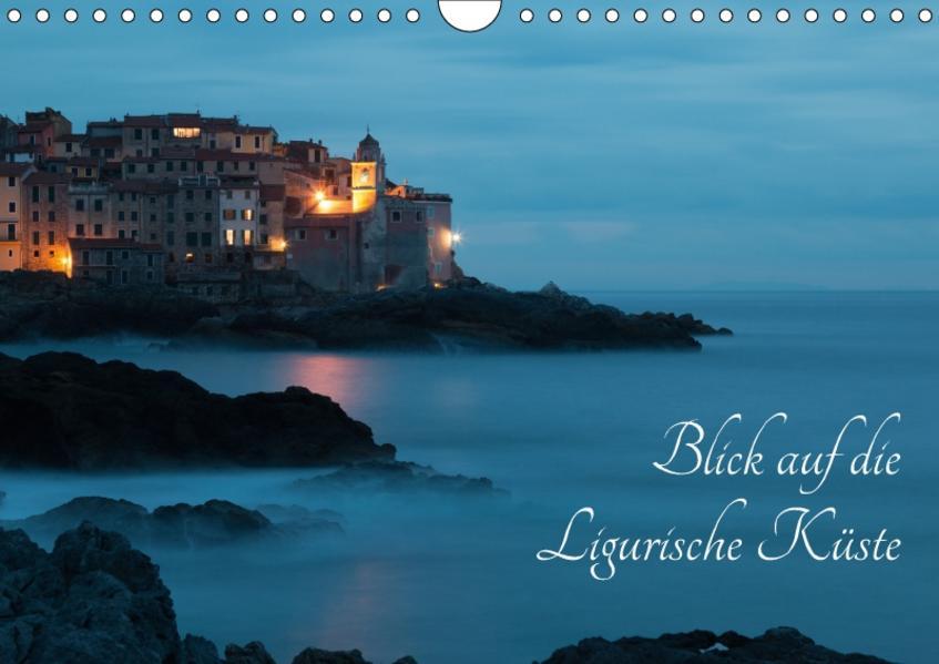 Blick auf die Ligurische Küste (Wandkalender 2017 DIN A4 quer) - Coverbild