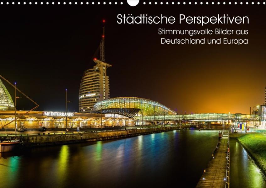 Städtische Perspektiven (Wandkalender 2017 DIN A3 quer) - Coverbild