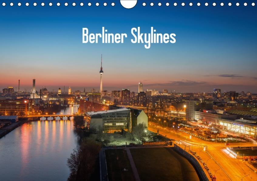 Berliner Skylines (Wandkalender 2017 DIN A4 quer) - Coverbild
