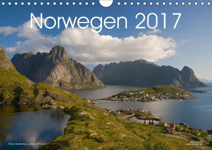 Norwegen (Wandkalender 2017 DIN A4 quer) - Coverbild