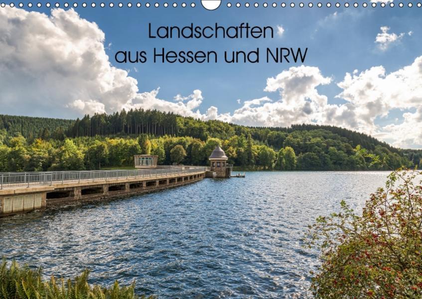 Landschaften aus Hessen und NRW (Wandkalender 2017 DIN A3 quer) - Coverbild