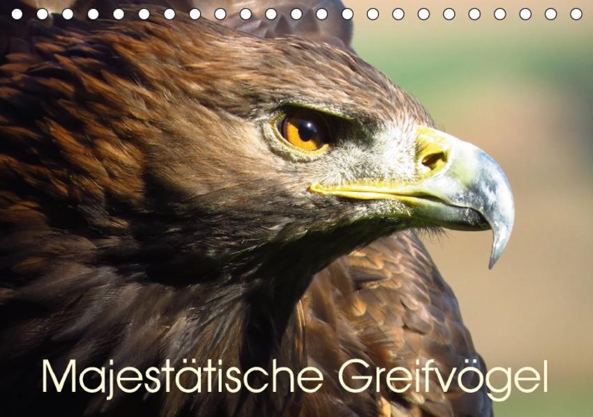 Majestätische Greifvögel (Tischkalender 2017 DIN A5 quer) - Coverbild