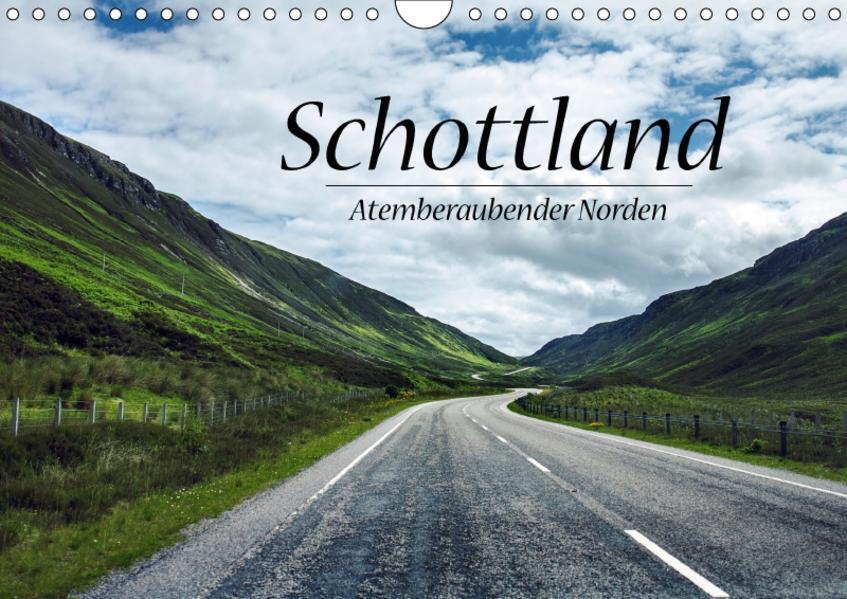 Schottland, Atemberaubender Norden (Wandkalender 2017 DIN A4 quer) - Coverbild