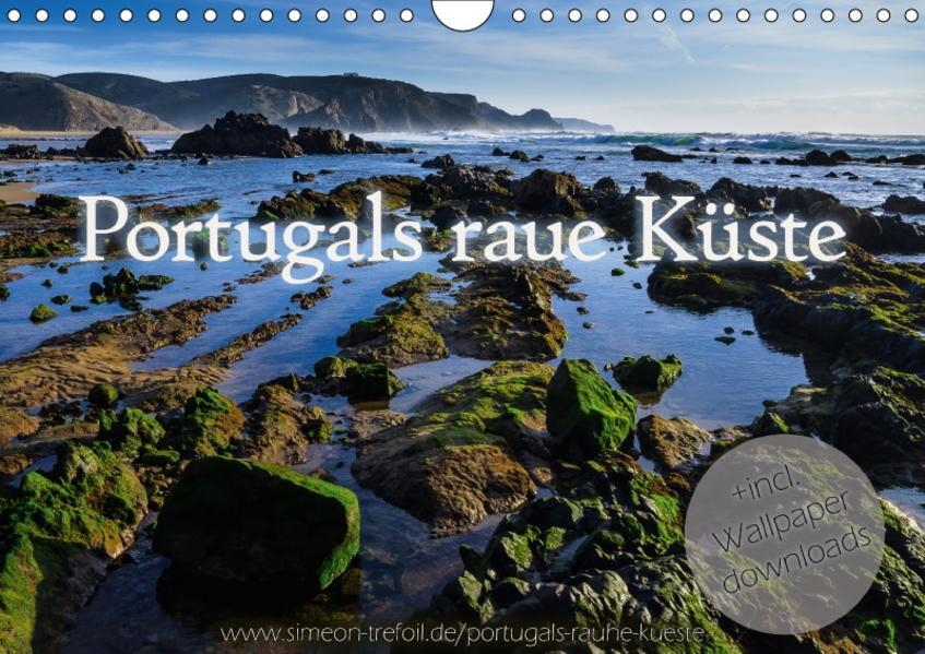 Portugals rauhe Küste (Wandkalender 2017 DIN A4 quer) - Coverbild