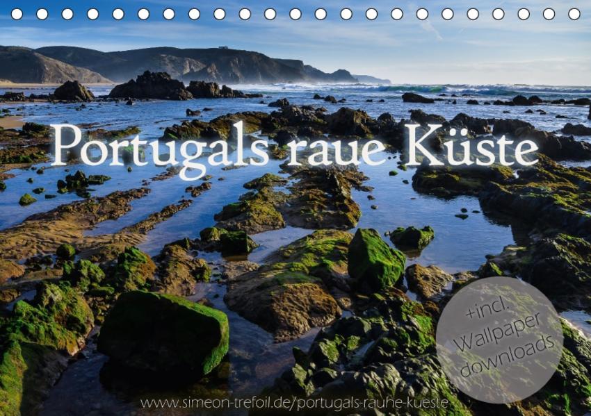 Portugals rauhe Küste (Tischkalender 2017 DIN A5 quer) - Coverbild