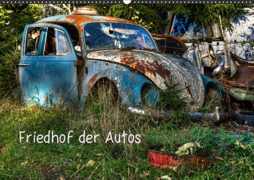 Friedhof der Autos (Wandkalender 2017 DIN A2 quer) - Coverbild