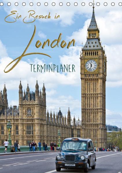 Ein Besuch in London / Terminplaner (Tischkalender 2017 DIN A5 hoch) - Coverbild