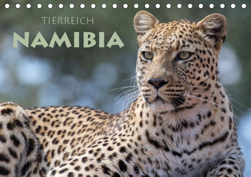 Tierreich Namibia (Tischkalender 2017 DIN A5 quer) - Coverbild