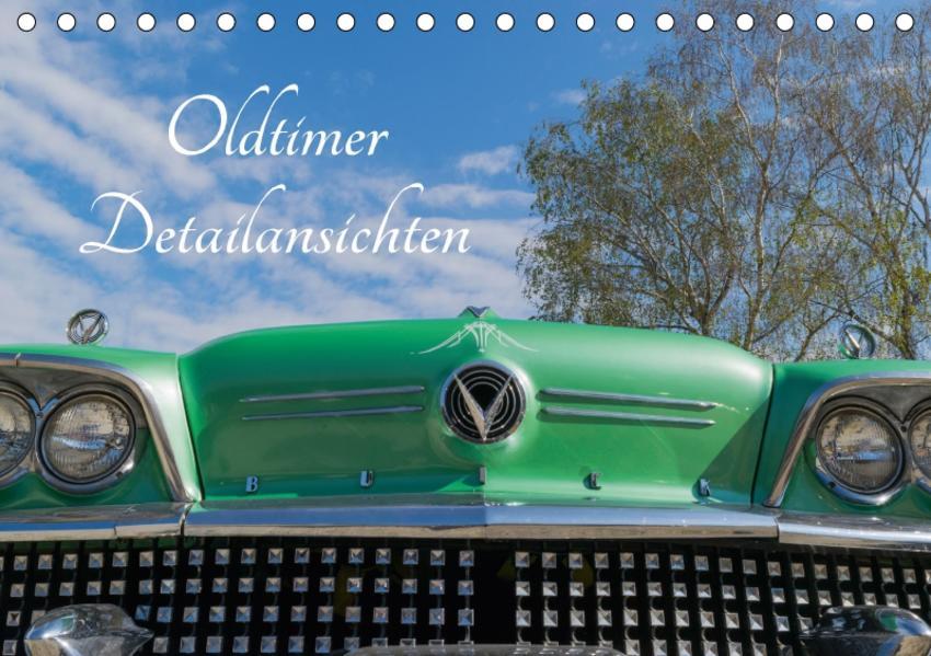Oldtimer Detailsansichten (Tischkalender 2017 DIN A5 quer) - Coverbild