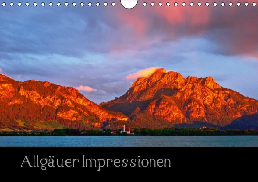 Allgäuer Impressionen (Wandkalender 2017 DIN A4 quer) - Coverbild