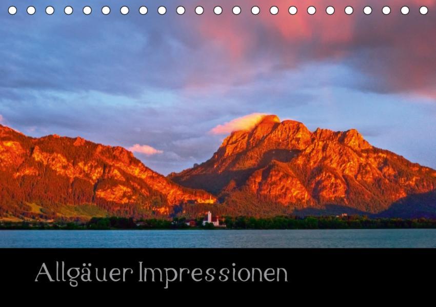 Allgäuer Impressionen (Tischkalender 2017 DIN A5 quer) - Coverbild