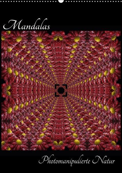 Mandalas - Photomanipulierte Natur (Wandkalender 2017 DIN A2 hoch) - Coverbild