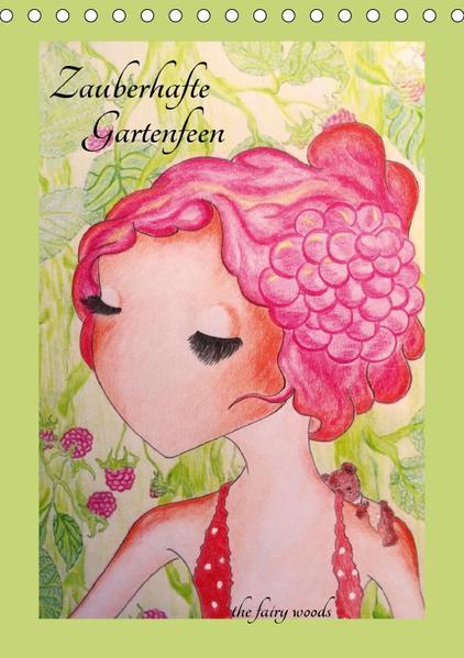 Zauberhafte GartenfeenAT-Version  (Tischkalender 2017 DIN A5 hoch) - Coverbild