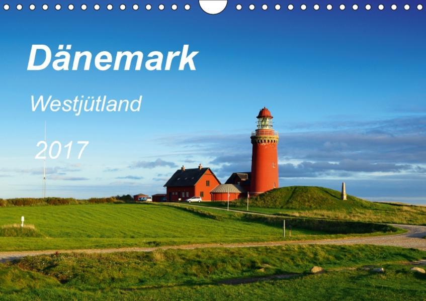 Dänemark Westjütland (Wandkalender 2017 DIN A4 quer) - Coverbild
