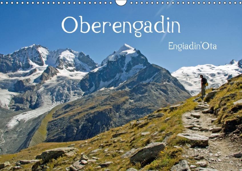 Oberengadin (Wandkalender 2017 DIN A3 quer) - Coverbild