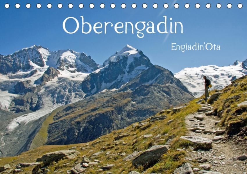 Oberengadin (Tischkalender 2017 DIN A5 quer) - Coverbild