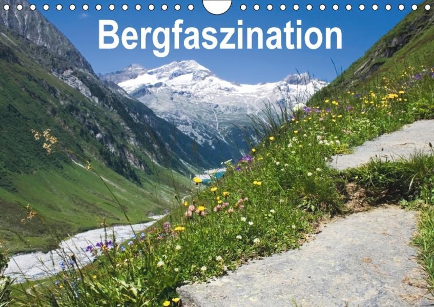 Bergfaszination (Wandkalender 2017 DIN A4 quer) - Coverbild