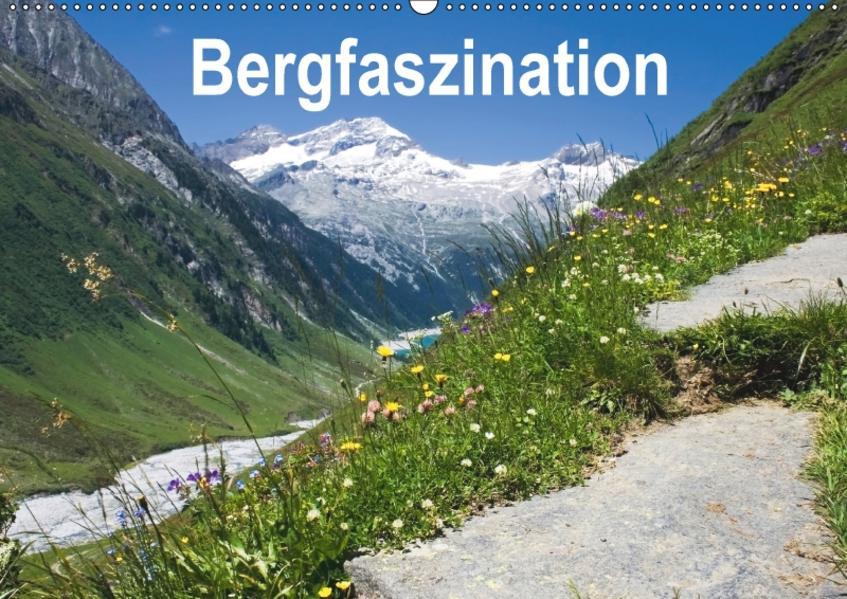 Bergfaszination (Wandkalender 2017 DIN A2 quer) - Coverbild