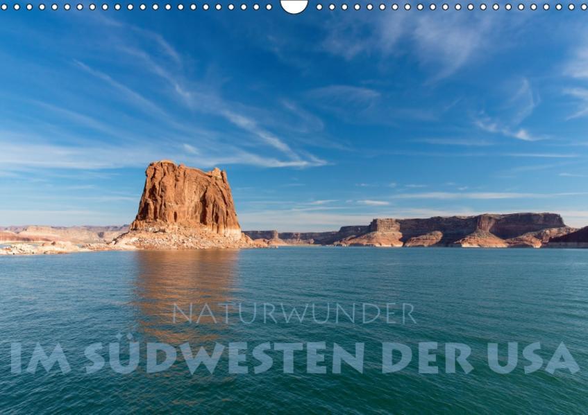 Naturwunder im Südwesten der USA (Wandkalender 2017 DIN A3 quer) - Coverbild