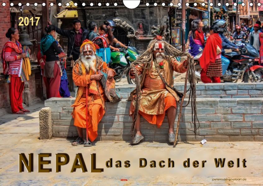Nepal - das Dach der Welt (Wandkalender 2017 DIN A4 quer) - Coverbild