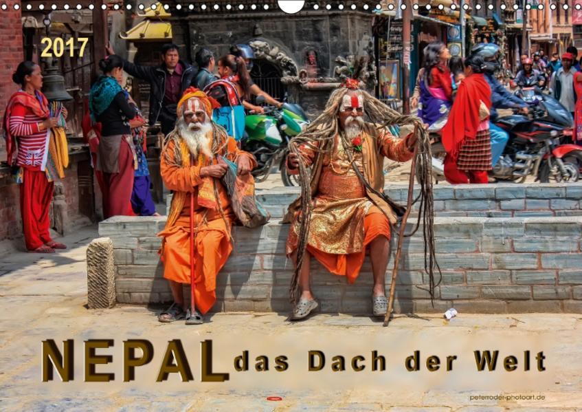 Nepal - das Dach der Welt (Wandkalender 2017 DIN A3 quer) - Coverbild