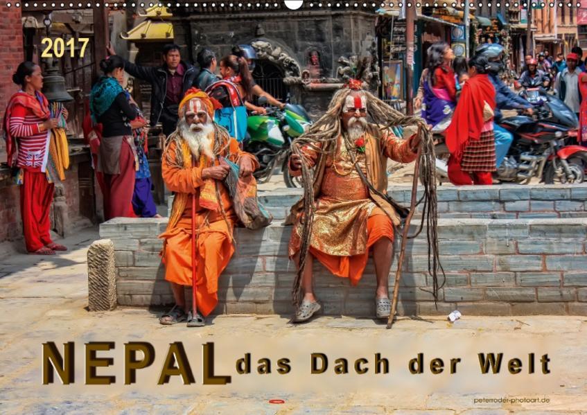 Nepal - das Dach der Welt (Wandkalender 2017 DIN A2 quer) - Coverbild
