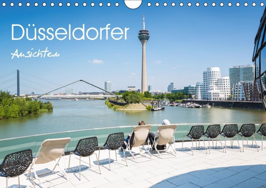 Düsseldorfer - Ansichten (Wandkalender 2017 DIN A4 quer) - Coverbild