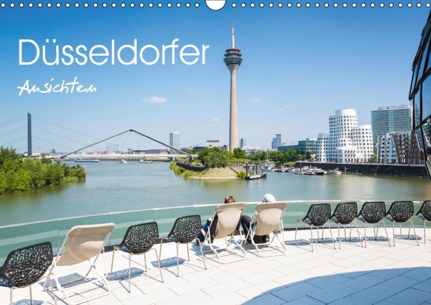 Düsseldorfer - Ansichten (Wandkalender 2017 DIN A3 quer) - Coverbild