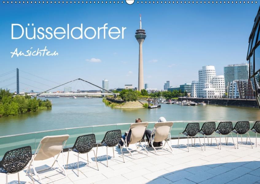 Düsseldorfer - Ansichten (Wandkalender 2017 DIN A2 quer) - Coverbild