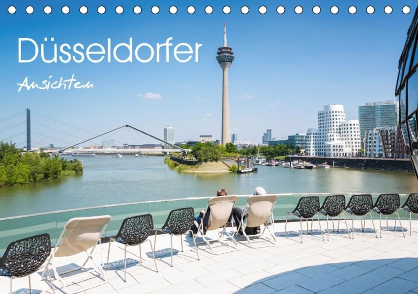 Düsseldorfer - Ansichten (Tischkalender 2017 DIN A5 quer) - Coverbild