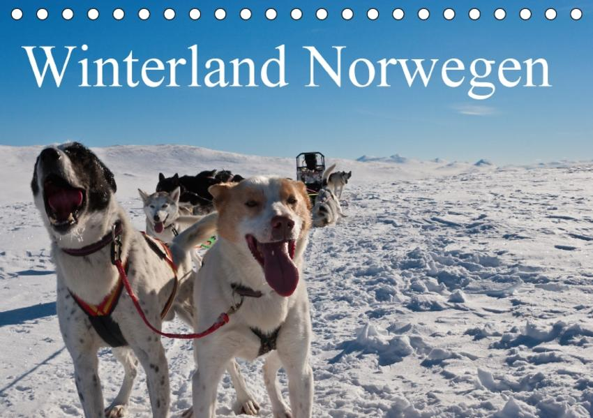 Winterland Norwegen (Tischkalender 2017 DIN A5 quer) - Coverbild