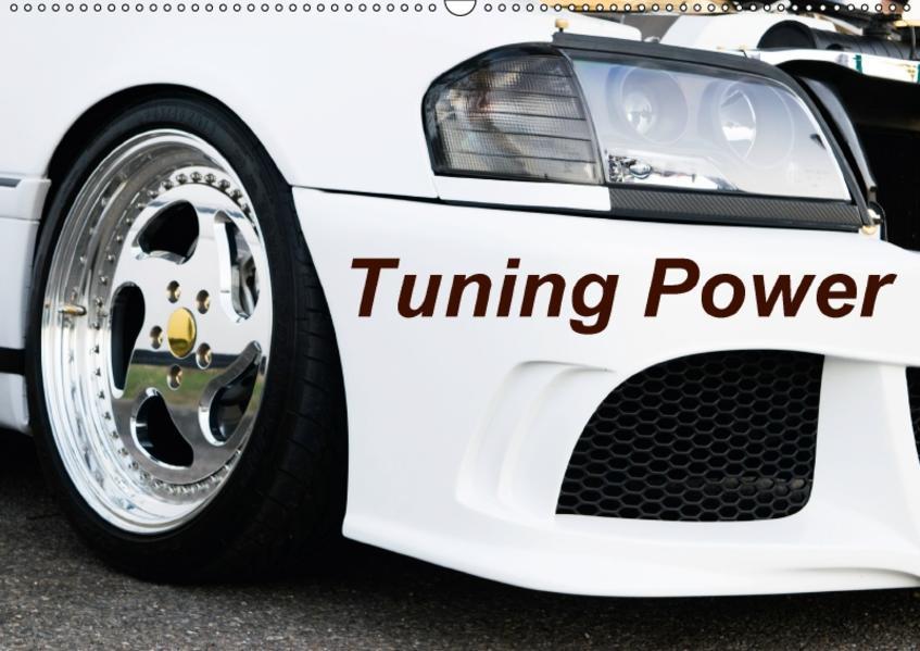 Tuning Power (Wandkalender 2017 DIN A2 quer) - Coverbild