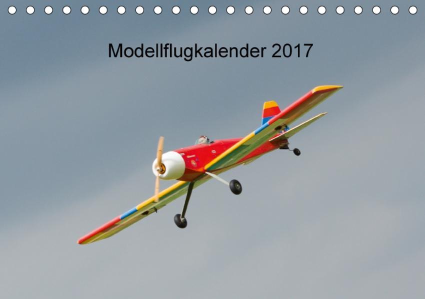 Modellflugkalender 2017 (Tischkalender 2017 DIN A5 quer) - Coverbild