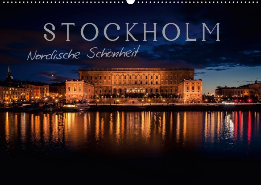 Stockholm - Nordische Schönheit (Wandkalender 2017 DIN A2 quer) - Coverbild