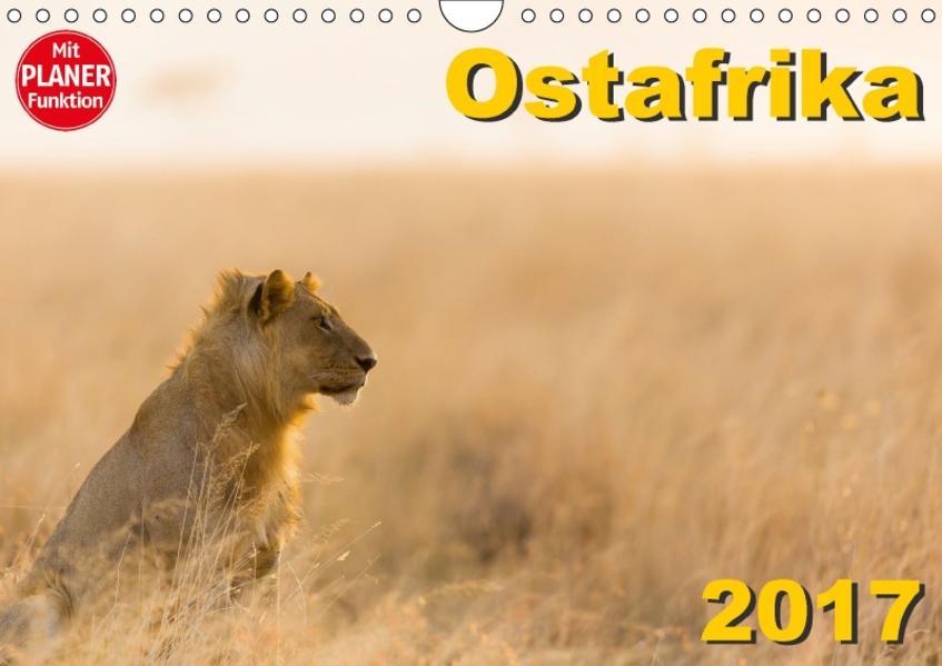 Ostafrika (Wandkalender 2017 DIN A4 quer) - Coverbild