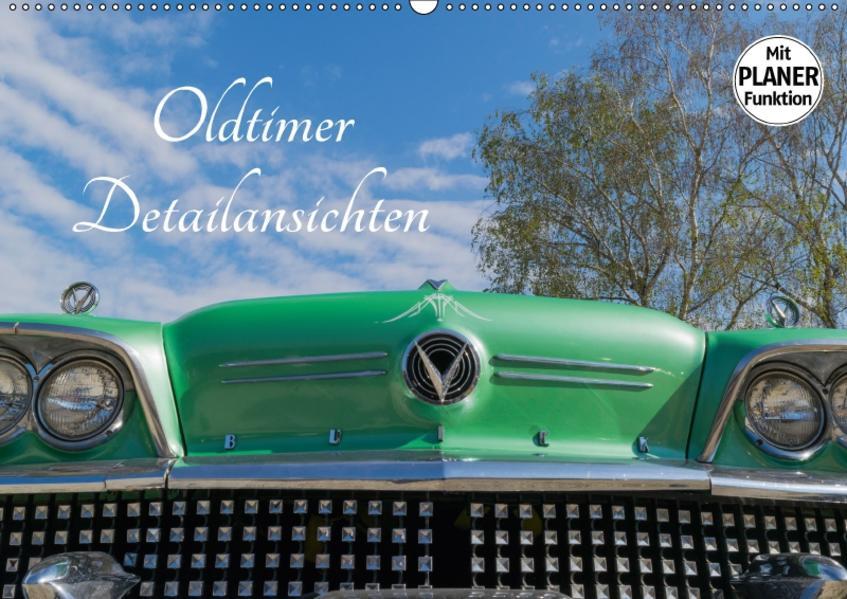 Oldtimer Detailsansichten (Wandkalender 2017 DIN A2 quer) - Coverbild