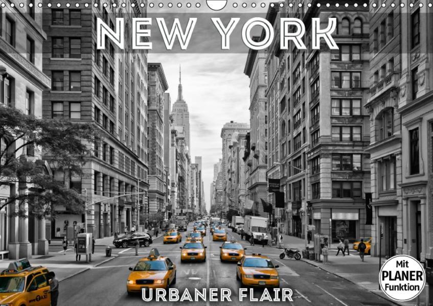 NEW YORK Urbaner Flair (Wandkalender 2017 DIN A3 quer) - Coverbild