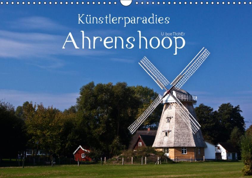 Künstlerparadies Ahrenshoop (Wandkalender 2017 DIN A3 quer) - Coverbild