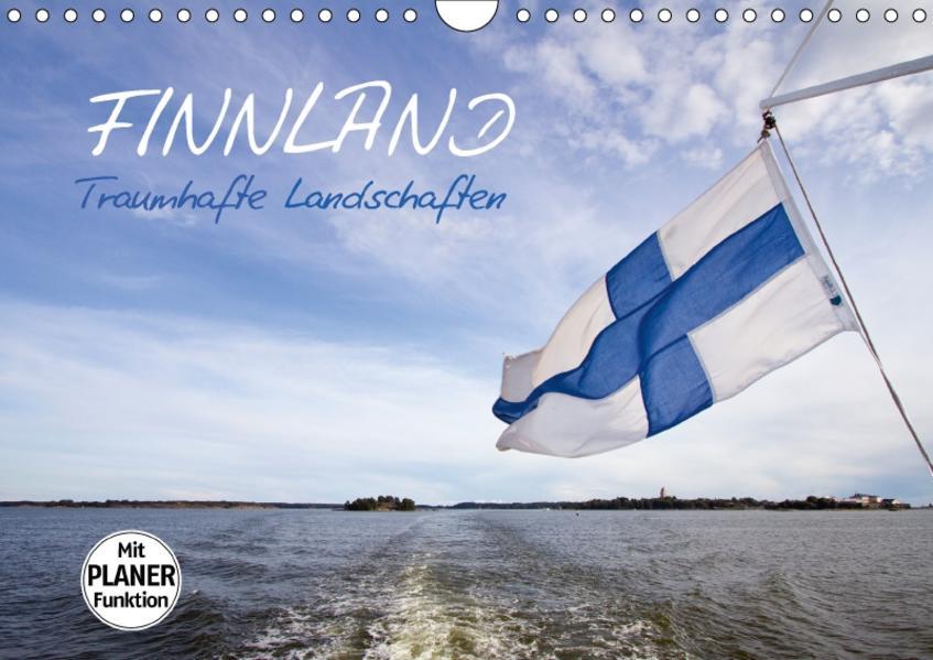 FINNLAND Traumhafte Landschaften (Wandkalender 2017 DIN A4 quer) - Coverbild