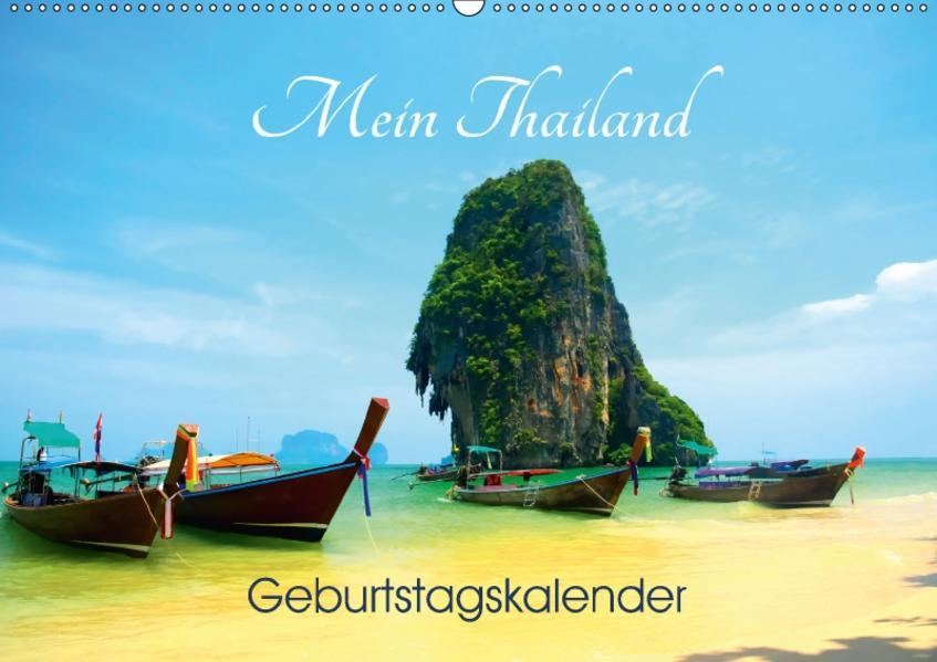 Mein Thailand - Geburtstagskalender (Wandkalender 2017 DIN A2 quer) - Coverbild