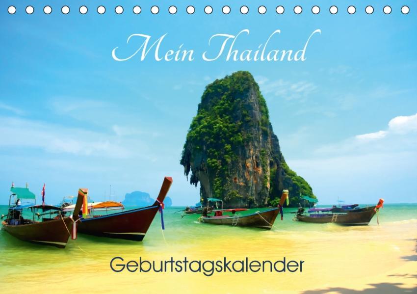 Mein Thailand - Geburtstagskalender (Tischkalender 2017 DIN A5 quer) - Coverbild