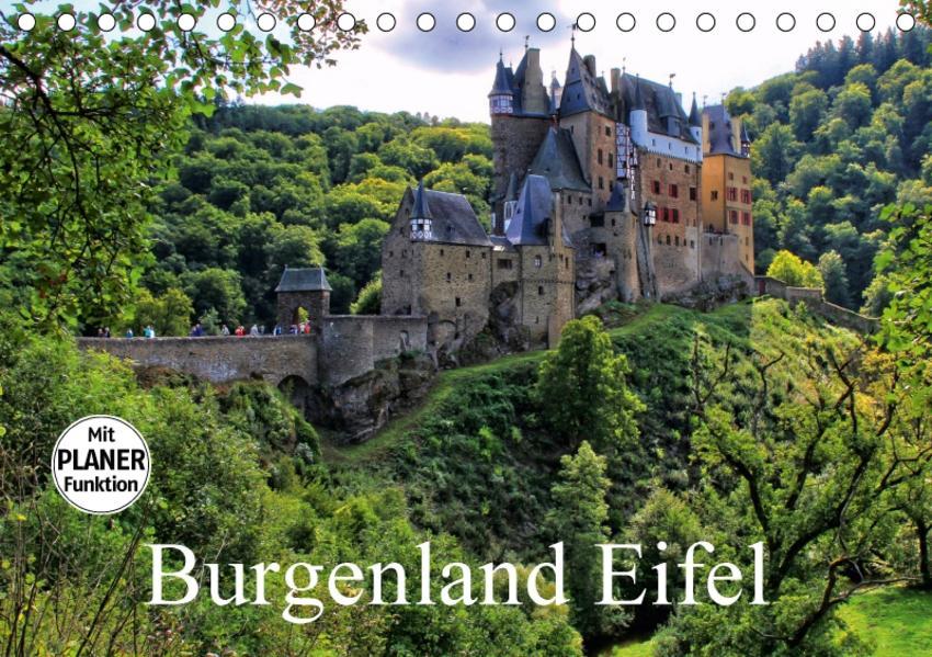 Burgenland Eifel (Tischkalender 2017 DIN A5 quer) - Coverbild
