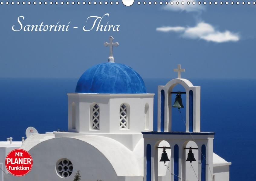 Santorini - Thira (Wandkalender 2017 DIN A3 quer) - Coverbild