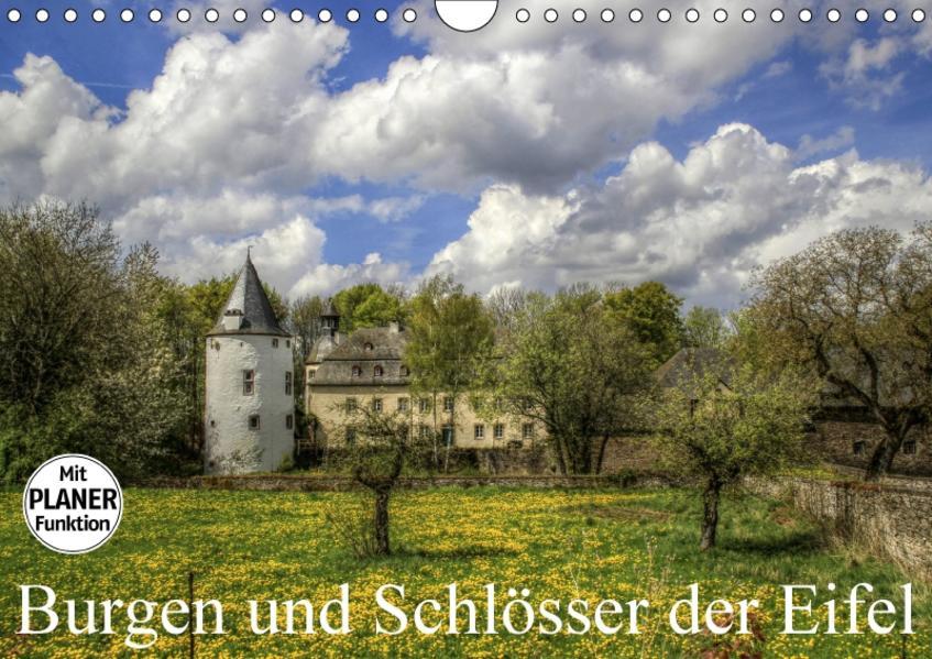 Burgen und Schlösser der Eifel (Wandkalender 2017 DIN A4 quer) - Coverbild