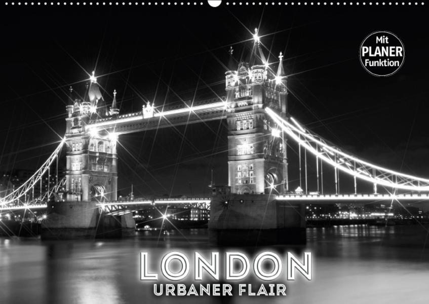 LONDON Urbaner Flair (Wandkalender 2017 DIN A2 quer) - Coverbild