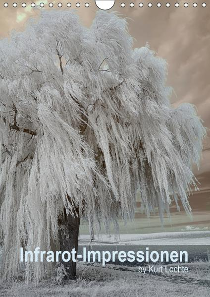 Infrarot-Impressionen by Kurt Lochte (Wandkalender 2017 DIN A4 hoch) - Coverbild