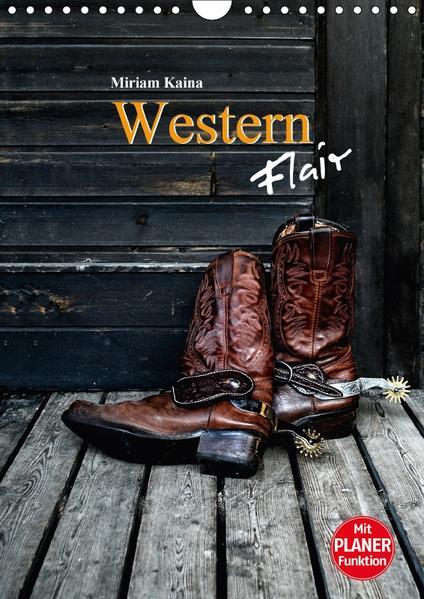 Western Flair (Wandkalender 2017 DIN A4 hoch) - Coverbild