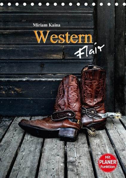 Western Flair (Tischkalender 2017 DIN A5 hoch) - Coverbild