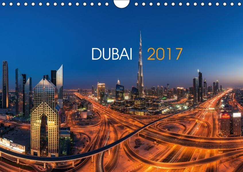DUBAI - 2017 (Wandkalender 2017 DIN A4 quer) - Coverbild
